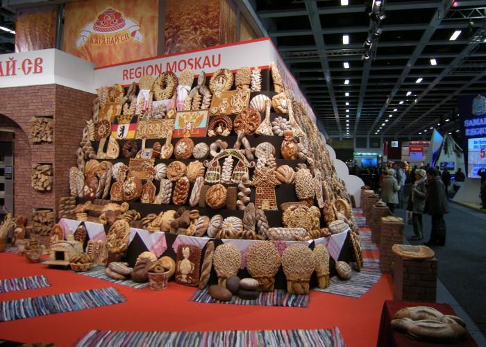 Grune Woche 2014: brood uit de regio Moskou (Rusland)